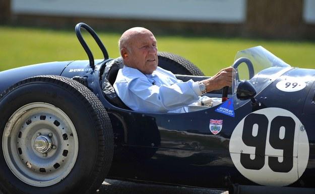 W wieku 90 lat po długotrwałej chorobie zmarł jeden z najwybitniejszych kierowców Formuły 1 sir Stirling Moss / Clive Gee /PAP/EPA