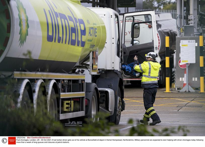 W Wielkiej Brytanii brakuje kierowców ciężarówek /Rex Features/EAST NEWS /East News