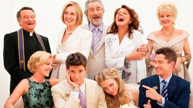 """W """"Wielkim weselu"""" udział wzięli m.in. Robert De Niro i Diane Keaton /materiały dystrybutora"""