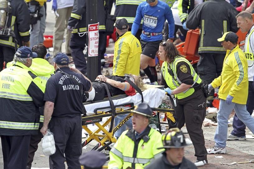 W wybuch rannych zostało ponad 140 osób /PAP/EPA