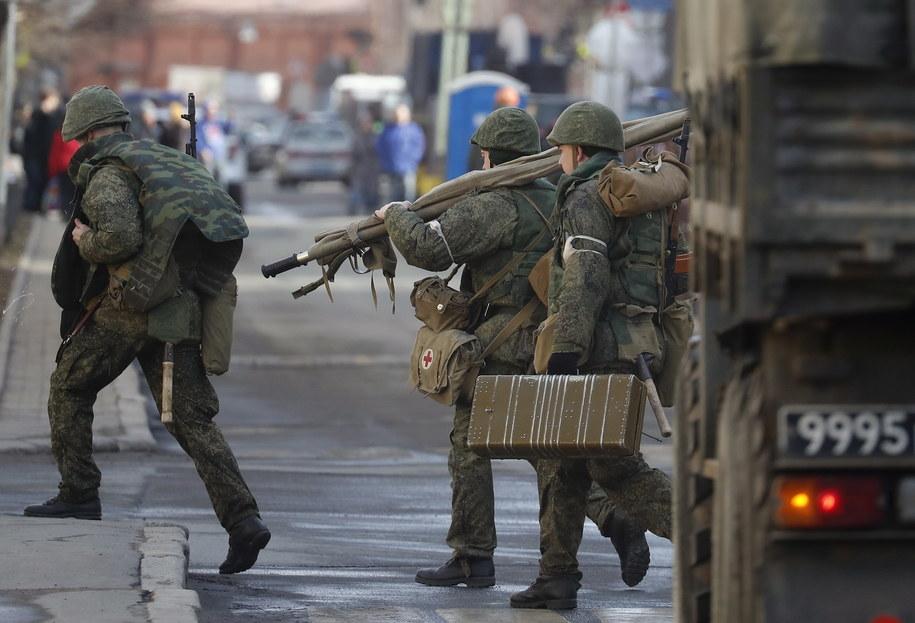 W wybuchu ranne zostały prawdopodobnie trzy osoby /ANATOLY MALTSEV  /PAP/EPA