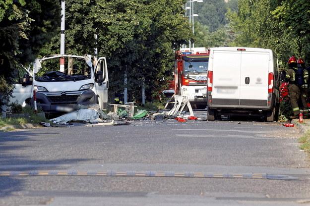W wybuchu zginęło dwóch mężczyzn /PSP /PAP
