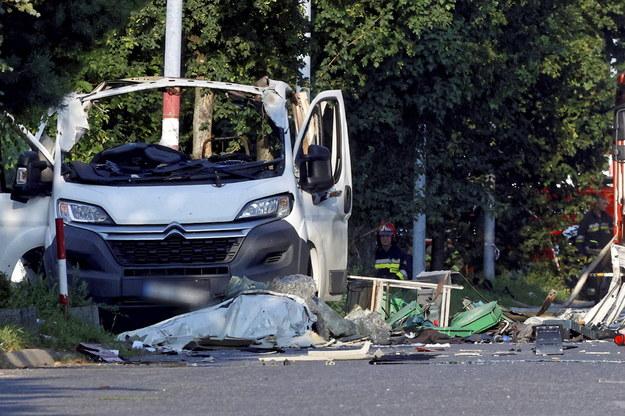 W wybuchu zginęły dwie osoby /PSP /PAP
