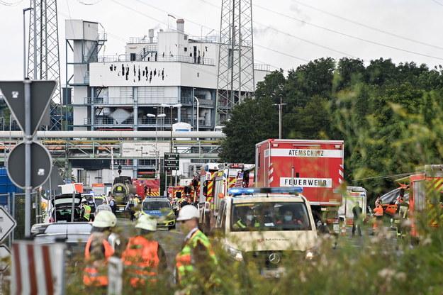 W wybuchu zginęły dwie osoby /Sascha Steinbach /PAP/EPA