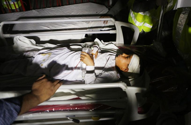 W wybuchu zostały ranne m.in. dzieci /PAP/EPA