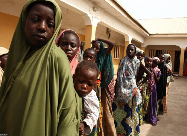 W wyniku islamistycznej rebelii w najludniejszym kraju Afryki zginęło wiele tysięcy osób/ Nigeria, 2 maja 2015 /AFP /East News