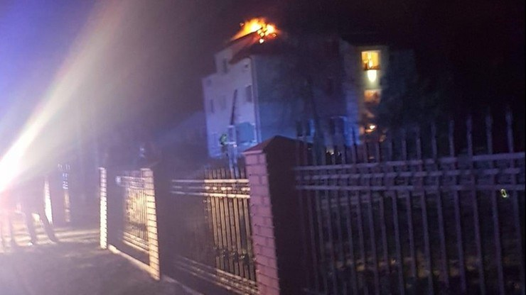W wyniku pożaru śmierć poniosły dwie osoby, fot. tygodniksiedlecki.com/OSP Nowe Opole /