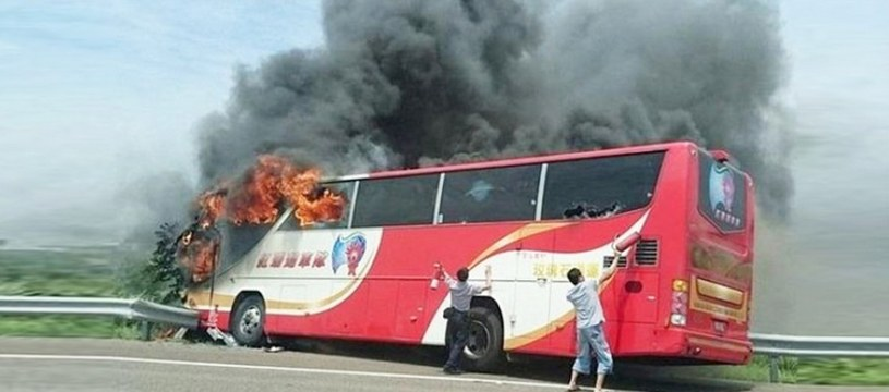 W wyniku tragicznego wypadku zginęło 26 osób, w tym troje dzieci /Twitter