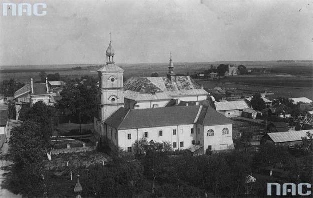 W wyniku wymiany Polska straciła m.in. miasto Bełz /Z archiwum Narodowego Archiwum Cyfrowego