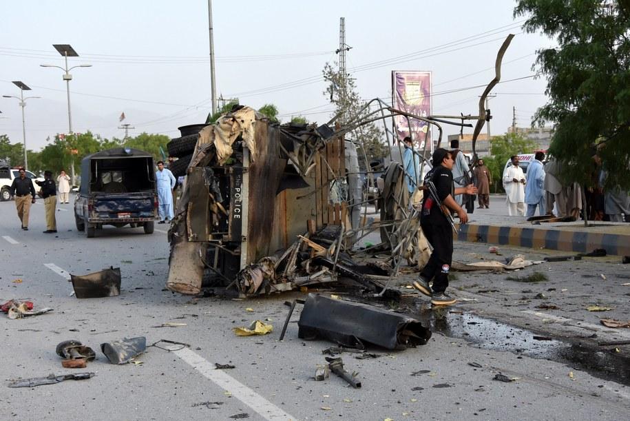 W wyniku zamachu zginęło sześć osób /PAP/EPA/JAMAL TARAQAI /PAP/EPA