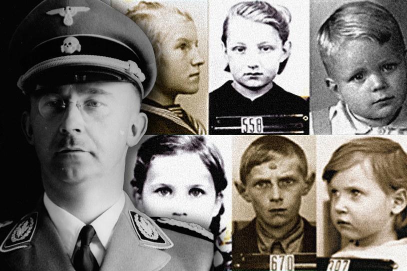 W wyniku zaplanowanej przez Heinricha Himmlera akcji z terenów okupowanej Polski zrabowano około 200 tysięcy dzieci /&nbsp