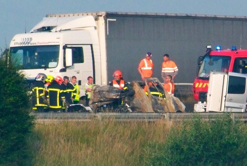 W wypadku na A16 zginął kierowca furgonetki /AFP