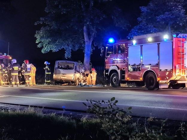 W wypadku ranna została 8-osobowa rodzina /Marcin Repczyc /Gorąca Linia RMF FM