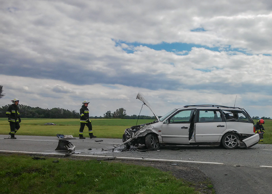 W wypadku ranna została jedna osoba /Gorąca Linia RMF FM