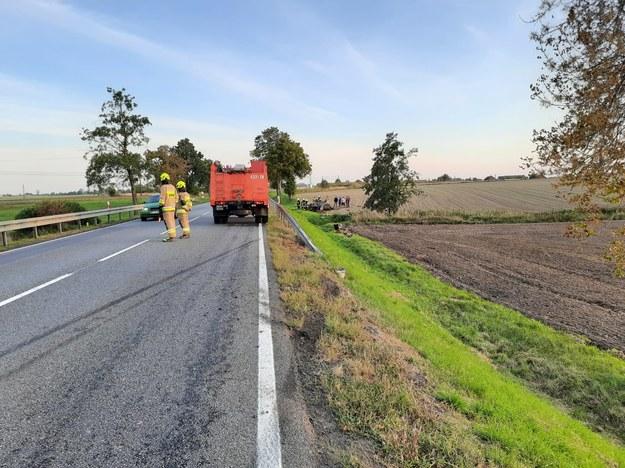 W wypadku ranne zostały 2 osoby /Gorąca Linia RMF FM
