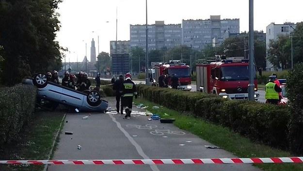 W wypadku ranny został kierowca auta /Gorąca Linia RMF FM
