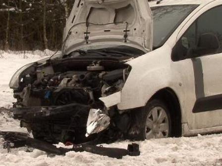 W wypadku uczestniczyły aż cztery samochody /KWP Poznań
