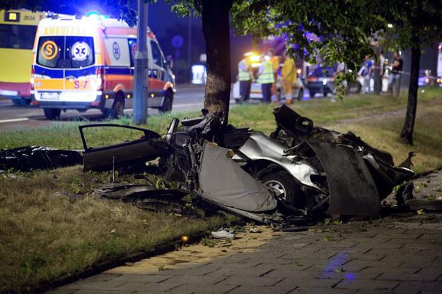 W wypadku w łodzi zginęły 3 osoby /Grzegorz Michałowski /PAP
