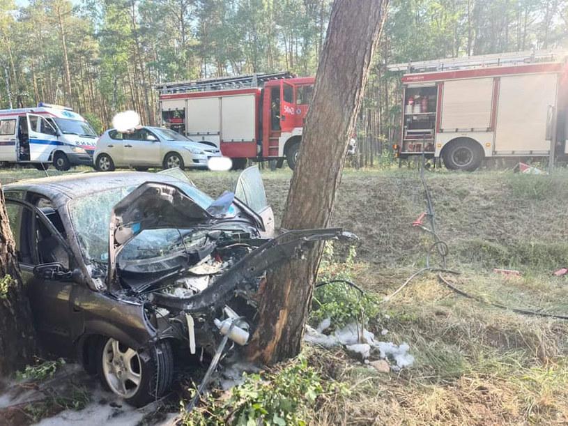 W wypadku zginął 14-latek /OSP Ostrzeszów /facebook.com