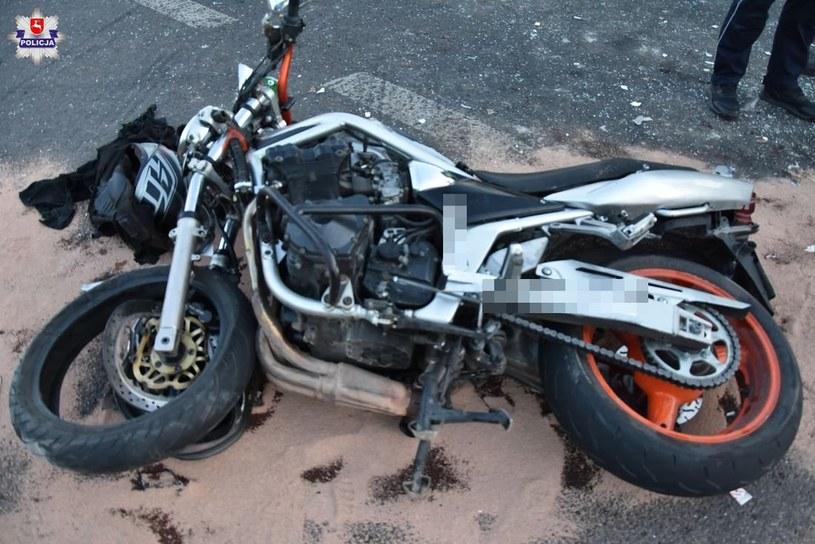 W wypadku zginął 27-letni motocyklista /Policja