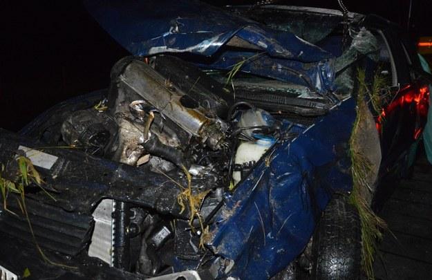 W wypadku zginął dwuletni syn kobiety, trzyletni został ciężko ranny /Policja