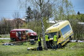 W wypadku zginął kierowca ciężarówki