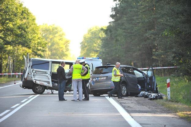 W wypadku zginął kierowca toyoty i troje dzieci /PAP