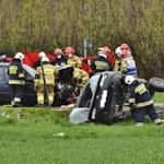 W wypadku zginęła 26-letnia druhna z OSP Michałowice. Była w 9. miesiącu ciąży