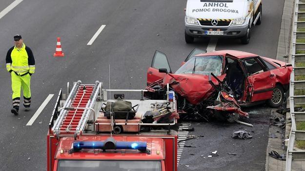 W wypadku zginęła jedna osoba /PAP