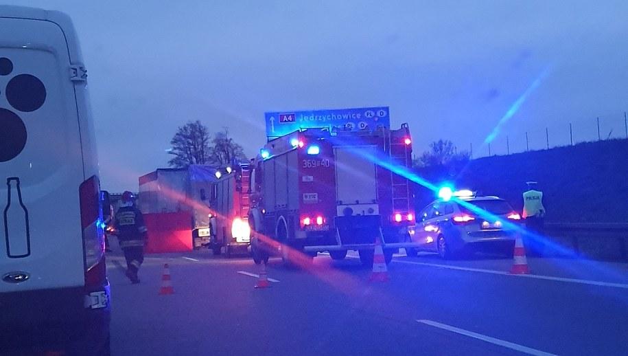 W wypadku zginęła jedna osoba /Gorąca Linia RMF FM