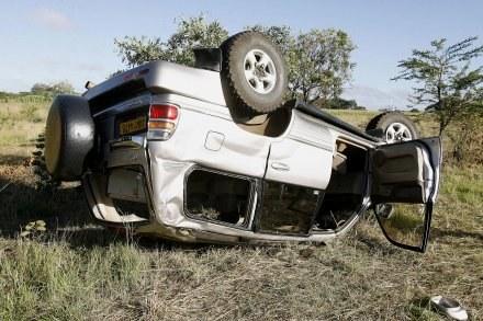 """W """"wypadku"""" zginęła żona premiera /AFP"""
