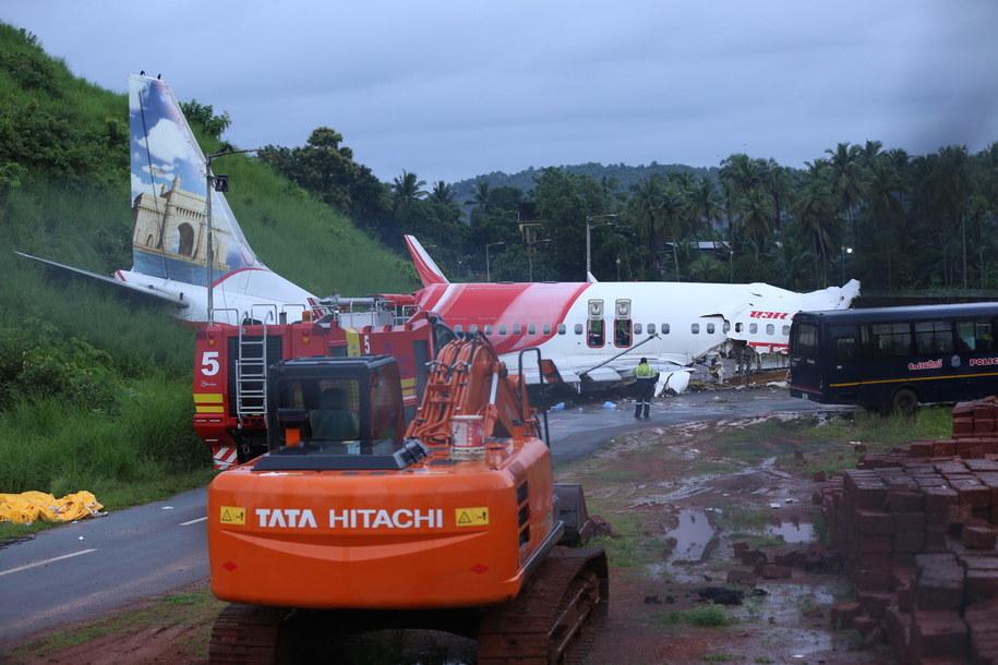 W wypadku zginęło 18 pasażerów. Ranne są 122 osoby. /PRAKASH ELAMAKKARA /PAP/EPA