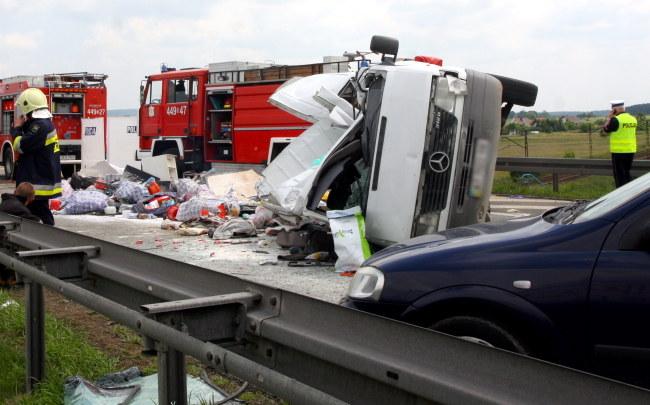 W wypadku zginęło 7 osób /Krzysztof Świderski /PAP