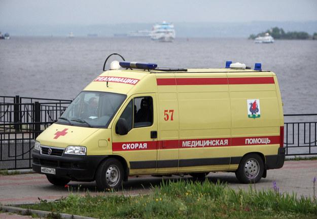 W wypadku zginęło co najmniej pięć osób, a cztery zostały ranne /ITAR-TASS/Kruchinin Roman    /PAP