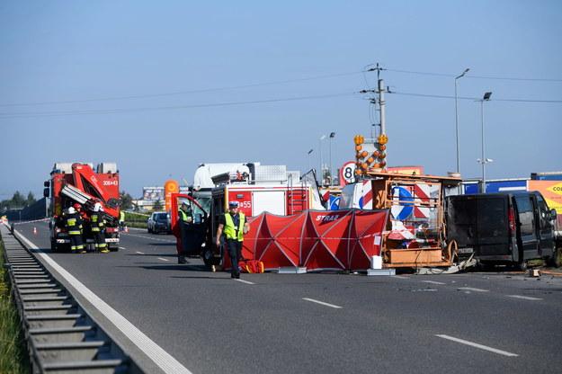 W wypadku zginęło dwóch pracowników firmy remontowej /Jakub Kaczmarczyk   /PAP
