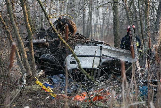 W wypadku zginęło pięć osób /fot. Marek Maliszewski /Reporter