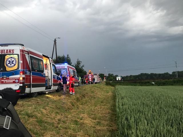 W wypadku zginęło pięć osób /Mateusz Czmiel /RMF FM