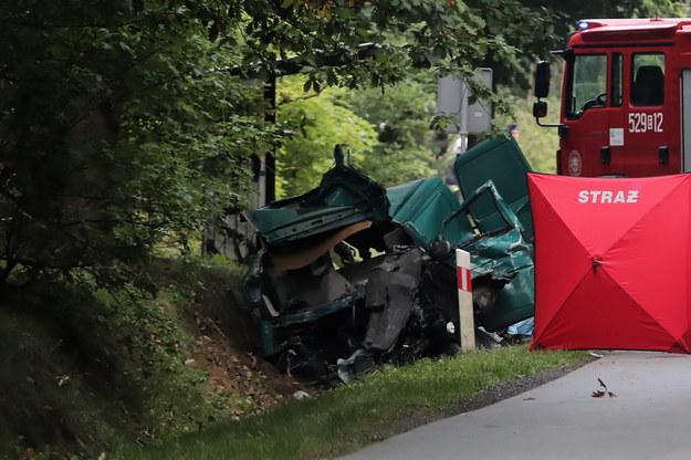 W wypadku zginęły 3 osoby /Roman Zawistowski /PAP