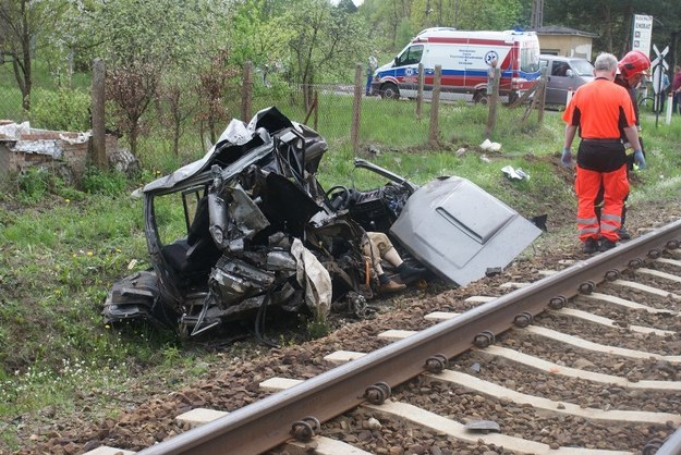 W wypadku zginęły dwie osoby /RMF24