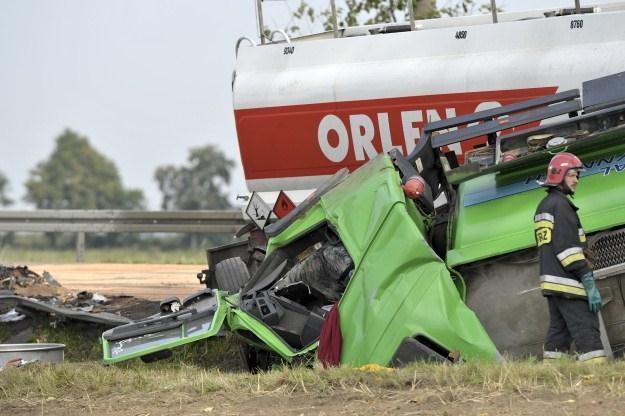 W wypadku zginęły dwie osoby /PAP