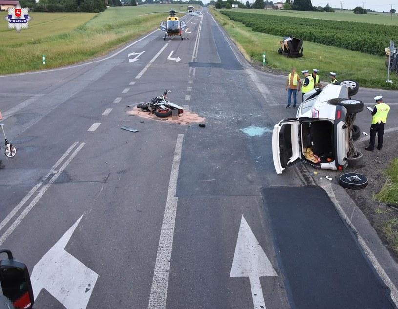 W wypadku zginęły dwie osoby /Policja