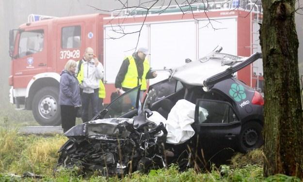 W wypadku zginęły trzy osoby /PAP