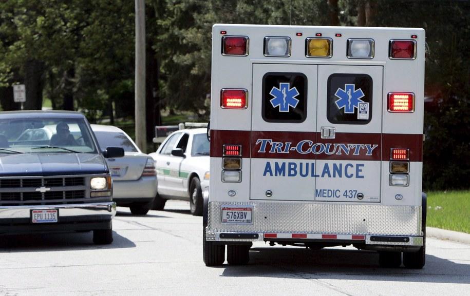 W wypadku zostało rannych ponad 50 osób /DAVID MAXWELL /PAP/EPA