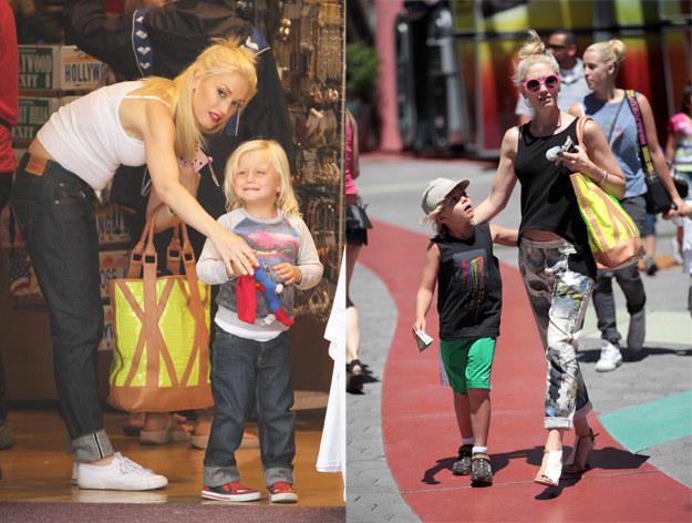 """W wywiadach Gwen często podkreśla, że lubi rozpieszczać synów. """"Chcę im dać wszystko, o czym tylko marzą, i nie widzę w tym niczego złego"""", mówi. /Agencja FORUM"""