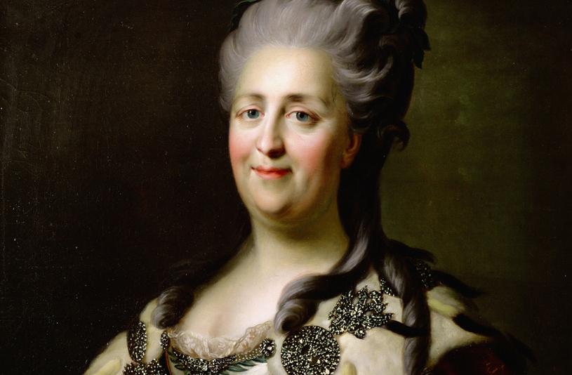 W XVIII wieku Katarzyna Wielka rozszerzyła znacząco wpływy Rosji /Getty Images