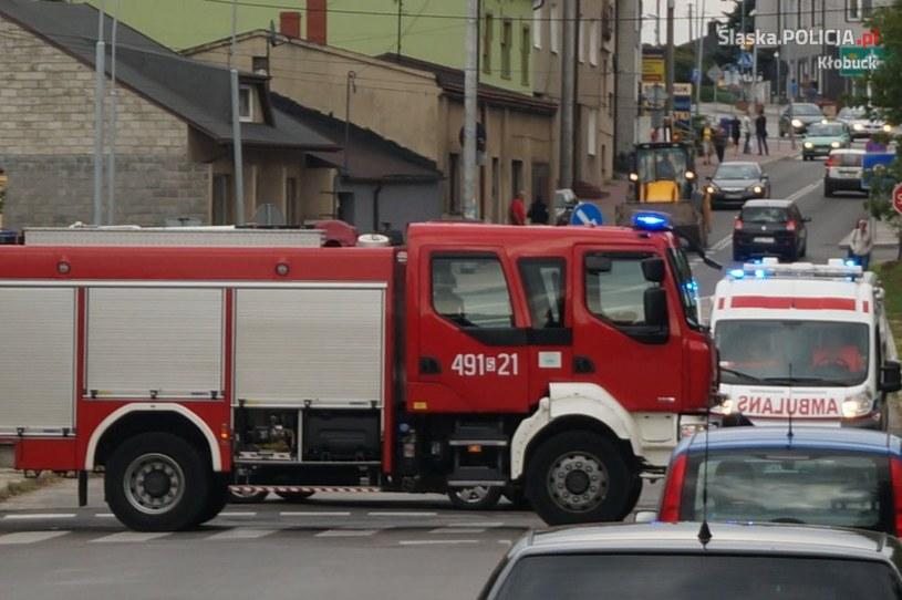 W zabezpieczeniu udział brali również strażacy oraz zespół karetki pogotowia /Policja