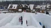 W Zakopanem otwarto największy na świecie śnieżny labirynt