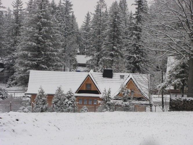 W Zakopanem przybywa śniegu /Iwona Zygmunt /RMF