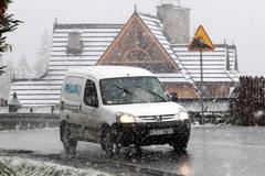 W Zakopanem spadł pierwszy śnieg