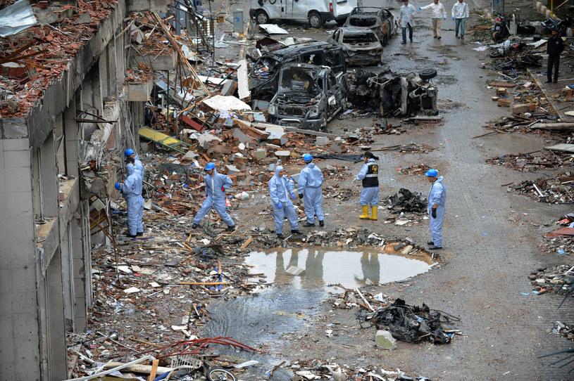 W zamachach zginęły co najmniej 43 osoby /AFP